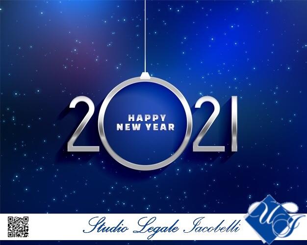 Gli auguri di felice anno nuovo dall'avv. Umberto Iacobelli